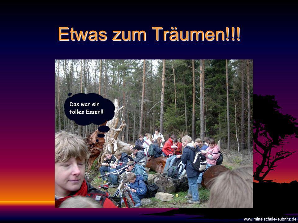Etwas zum Träumen!!! www.mittelschule-leubnitz.de