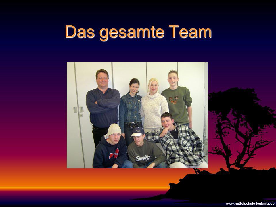 Das gesamte Team www.mittelschule-leubnitz.de