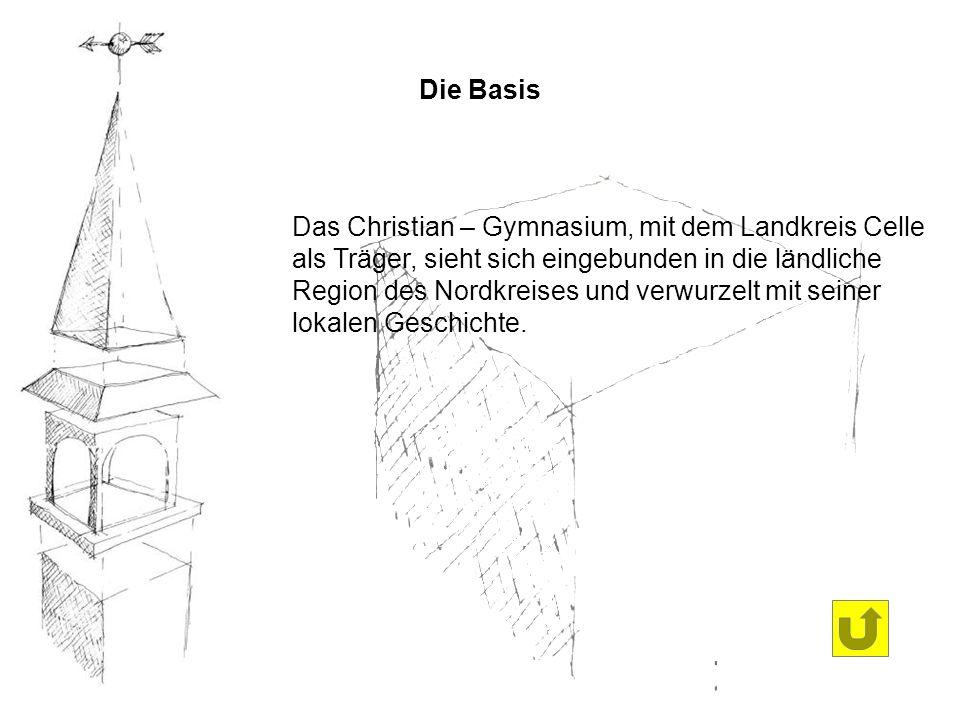 Das Christian – Gymnasium, mit dem Landkreis Celle als Träger, sieht sich eingebunden in die ländliche Region des Nordkreises und verwurzelt mit seine