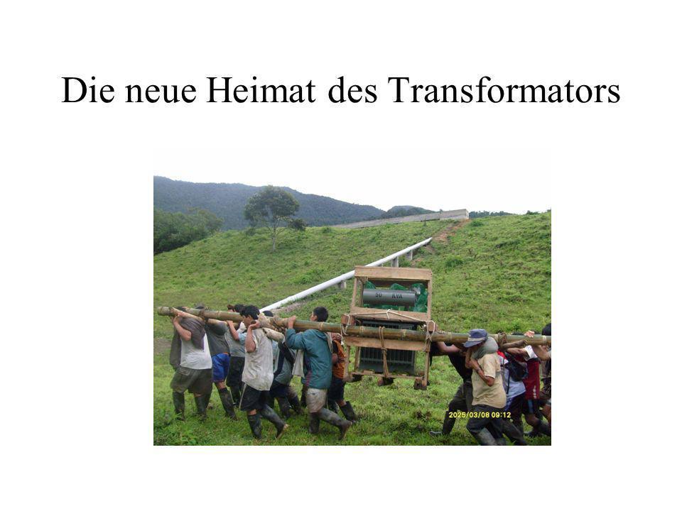 Die neue Heimat des Transformators