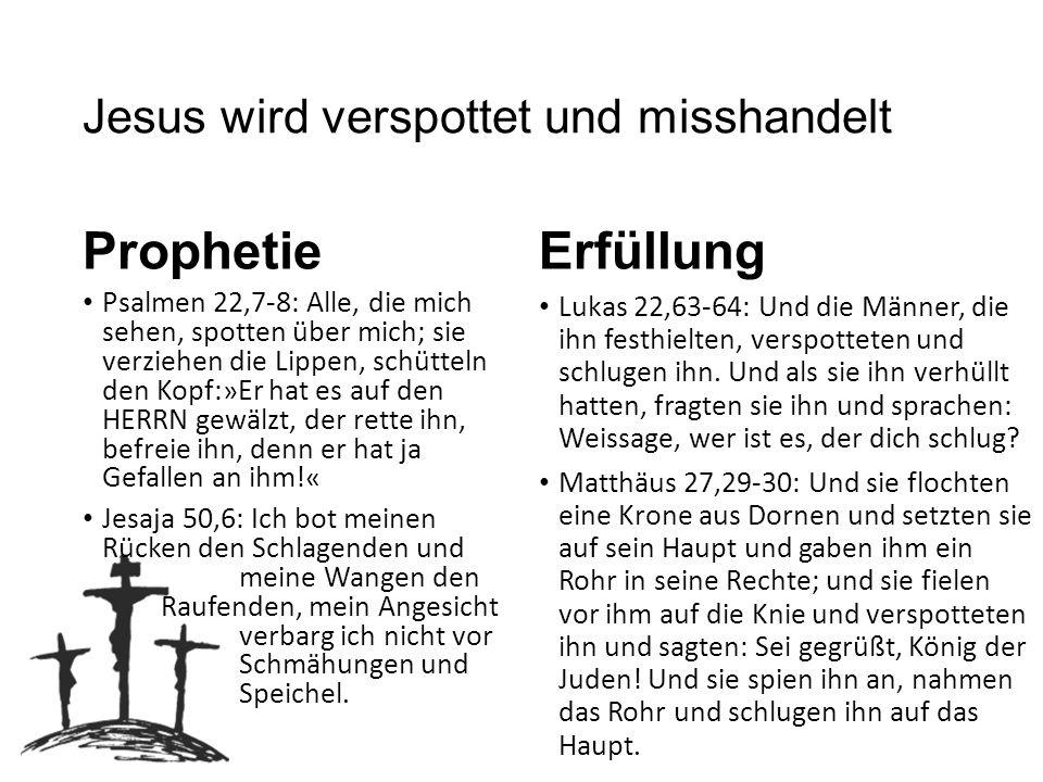 Jesus wird gekreuzigt Prophetie Psalmen 22,16: Denn Hunde haben mich umgeben, eine Rotte von Übeltätern hat mich umzingelt.