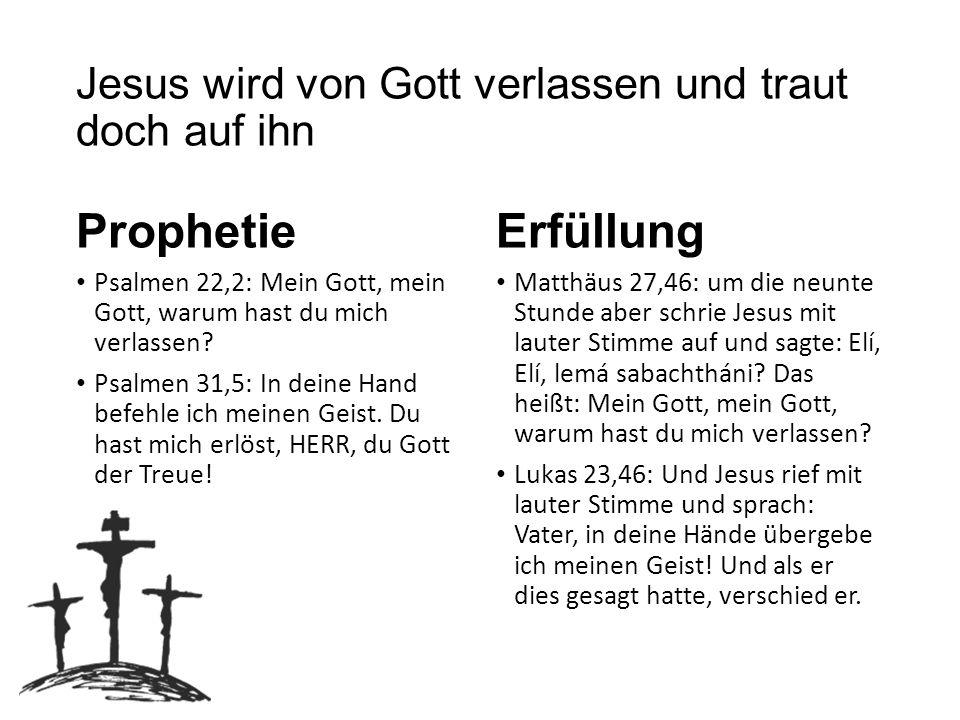 Jesus werden keine Knochen gebrochen Prophetie Psalmen 34,20: Er bewahrt alle seine Gebeine, nicht eines von ihnen wird zerbrochen.