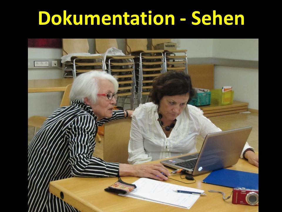 Dokumentation - Sehen