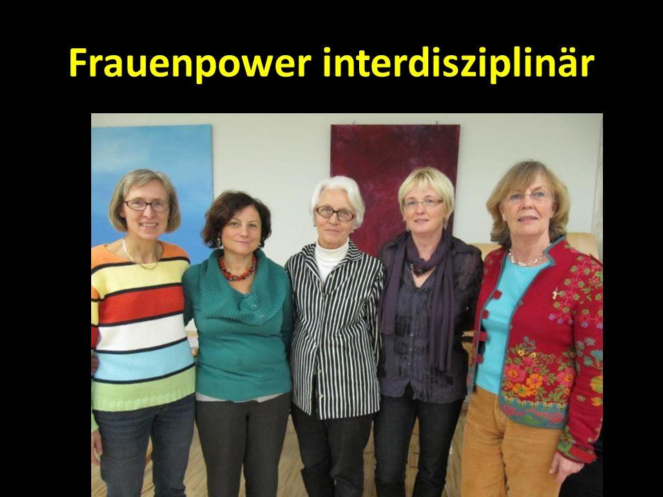 Frauenpower interdisziplinär