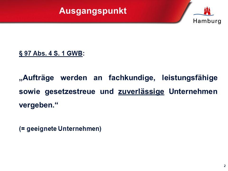 Ausgangspunkt § 97 Abs.4 S.