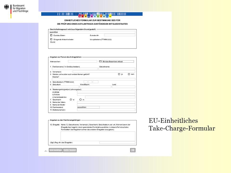 EU-Einheitliches Take-Charge-Formular