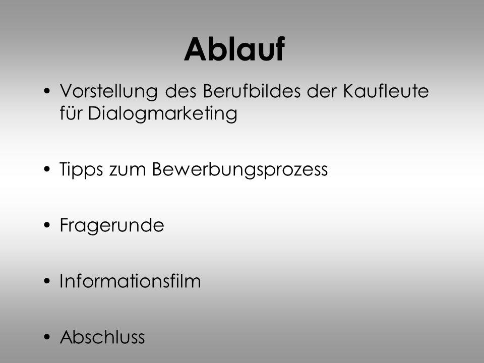 Der Beruf Kauffrau/-mann & Servicefachkraft für Dialogmarketing