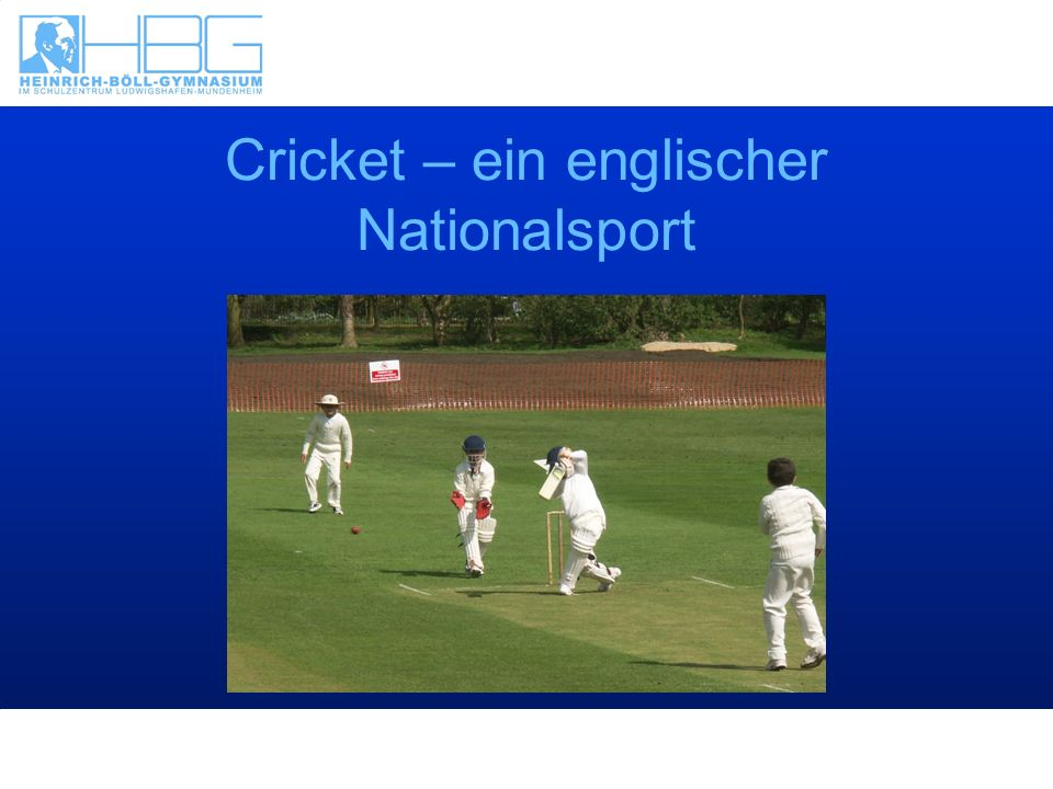 Cricket – ein englischer Nationalsport