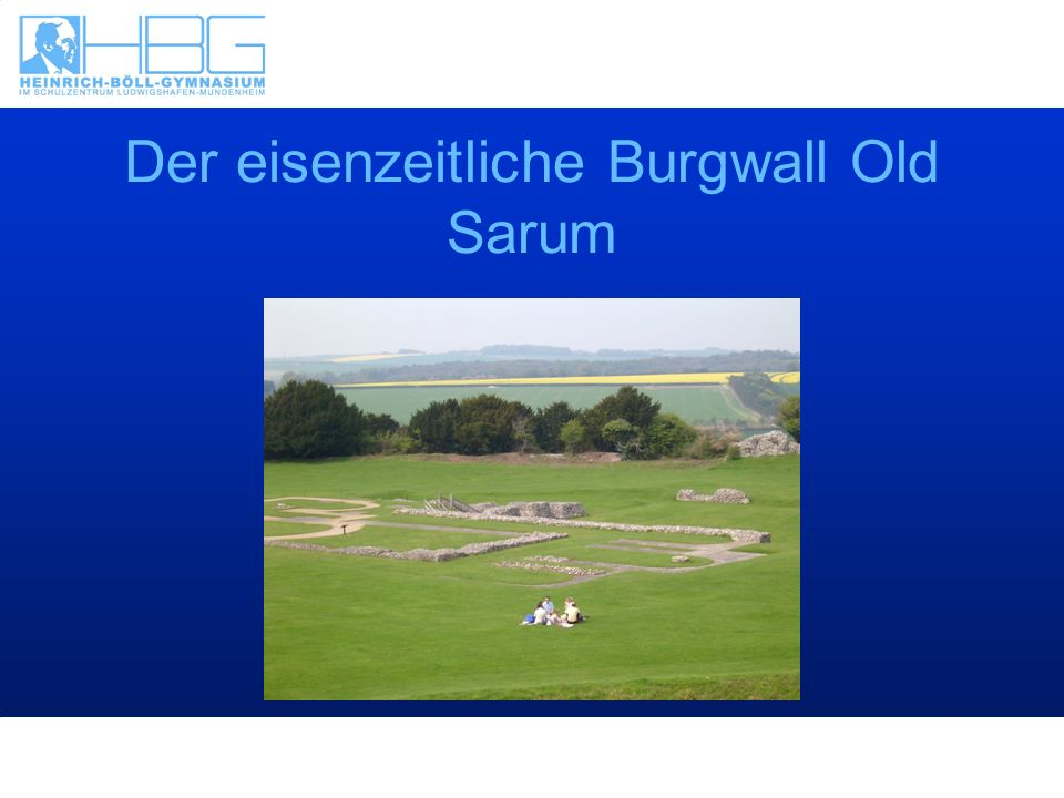 Der eisenzeitliche Burgwall Old Sarum
