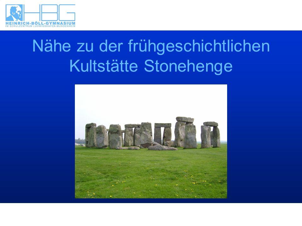 Nähe zu der frühgeschichtlichen Kultstätte Stonehenge