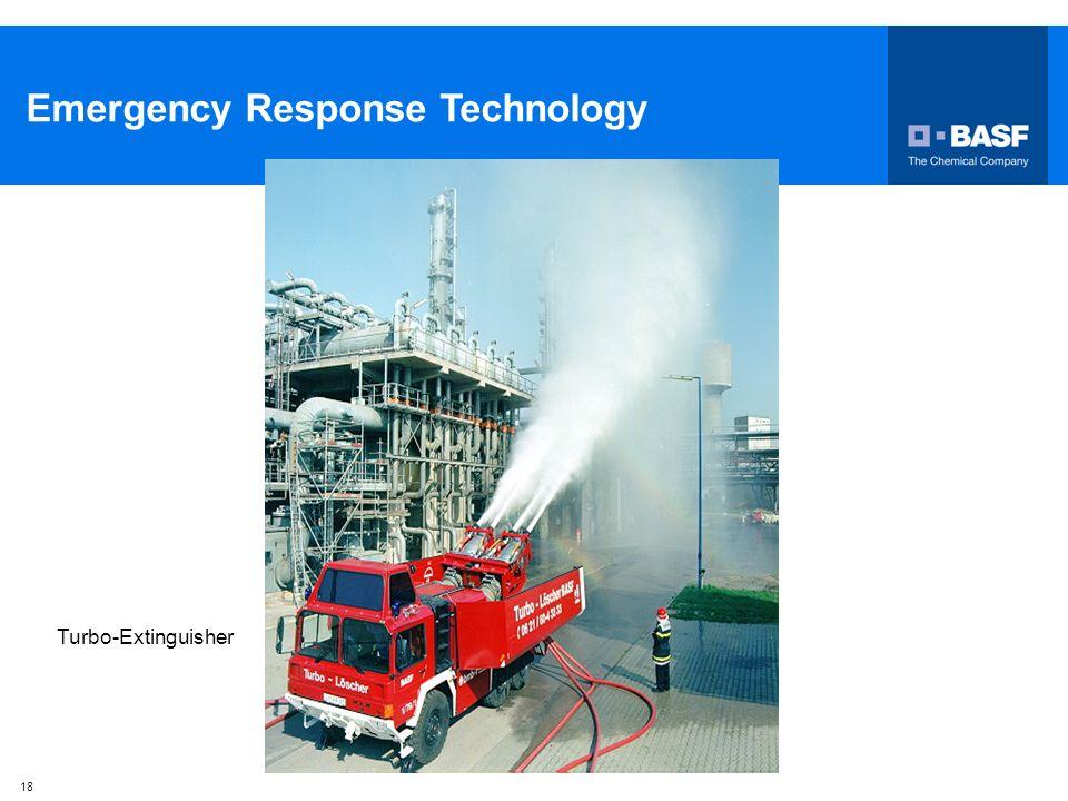 18 Emergency Response Technology Turbo-Extinguisher