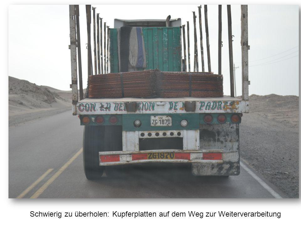 Schwierig zu überholen: Kupferplatten auf dem Weg zur Weiterverarbeitung