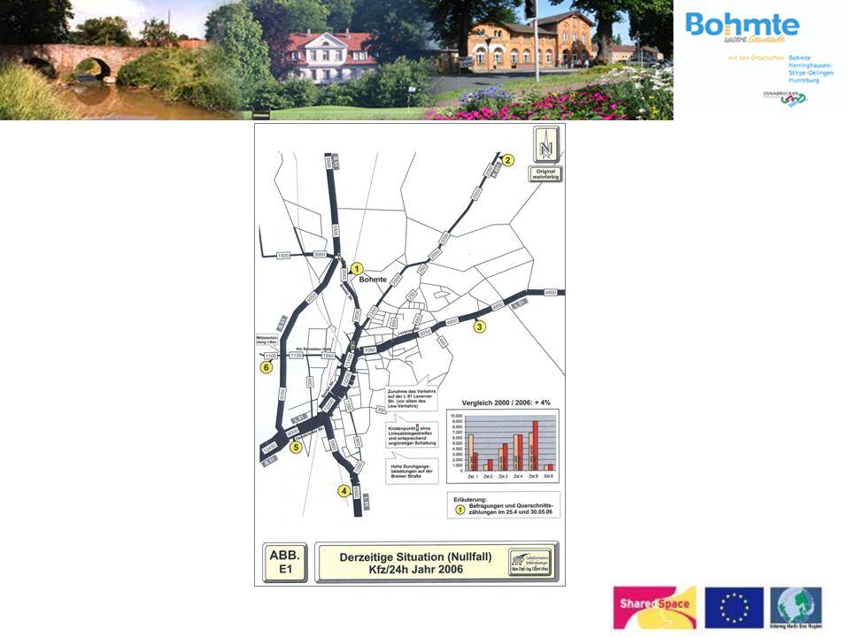 Wie ist das Projekt zu Stande gekommen? Bahnhofsvorplatz wurde in den Jahren 2003 und 2004 neu gestaltet Mittelanbindung an die B 51 wird zur Zeit rea