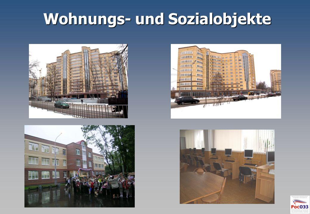 Wohnungs- und Sozialobjekte Wohnungs- und Sozialobjekte