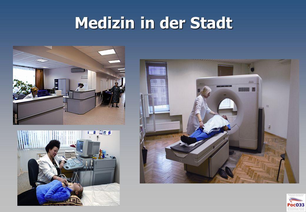 Medizin in der Stadt