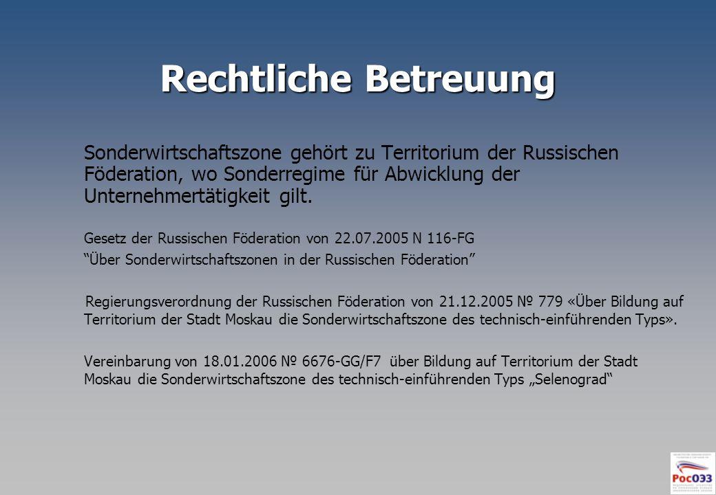 Inländer der SWZ Selenograd «SLATA» GmbH «SLATA» GmbH Projekt: «Entwicklung und Einführung Schutzsystemen für Umwelt des Menschen OAO «SKTB Xenon» Projekt: «Entwicklung und Versuchsproduktion von speziellen Hocheffizienzgasentladungsröhren und Geräten auf ihre Basis » ZAO Forschungsinstitut ESTO PProjekt: «Entwicklung der Perspektivtechnologien des Elektronenmaschinenbaus»