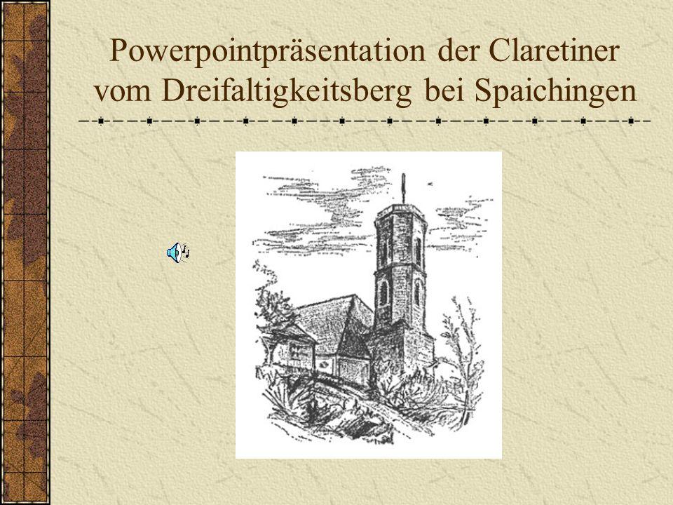 Der Dreifaltigkeitsberg und seine Wallfahrtskirche Der Dreifaltigkeitsberg überragt Spaichingen mit seinem markanten Höhenzug.