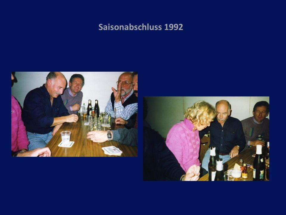 Saisonabschluss 1992