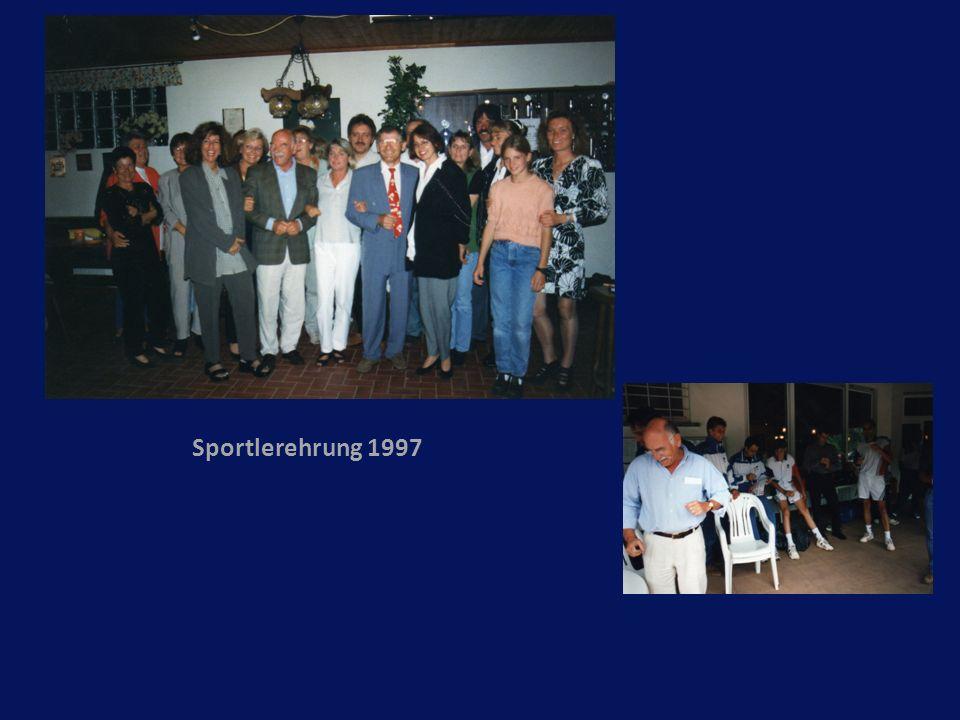 Sportlerehrung 1997