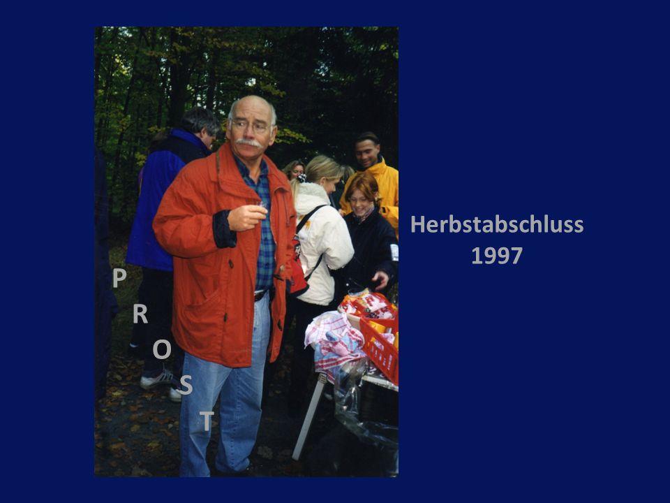 P R O S T Herbstabschluss 1997