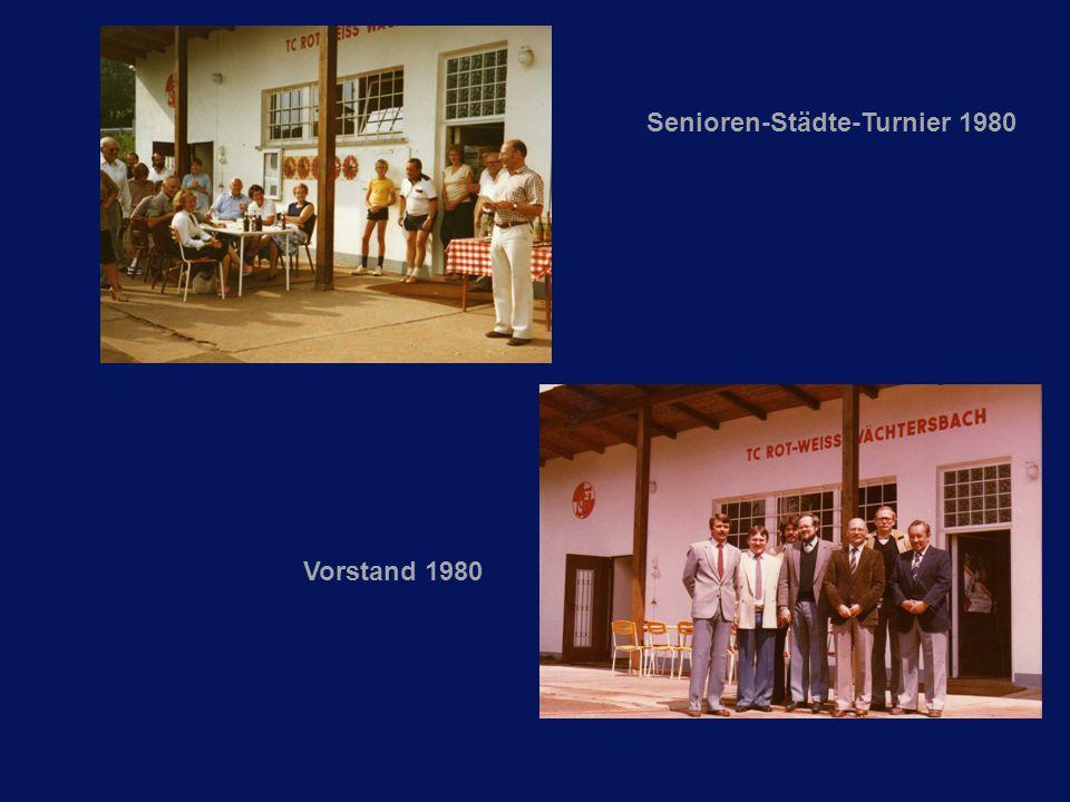 Vorstand 1980 Senioren-Städte-Turnier 1980