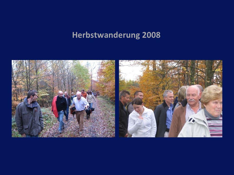 Herbstwanderung 2008