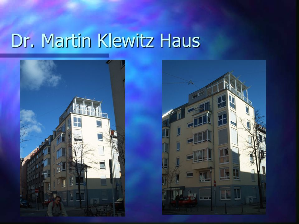 Dr. Martin Klewitz Haus
