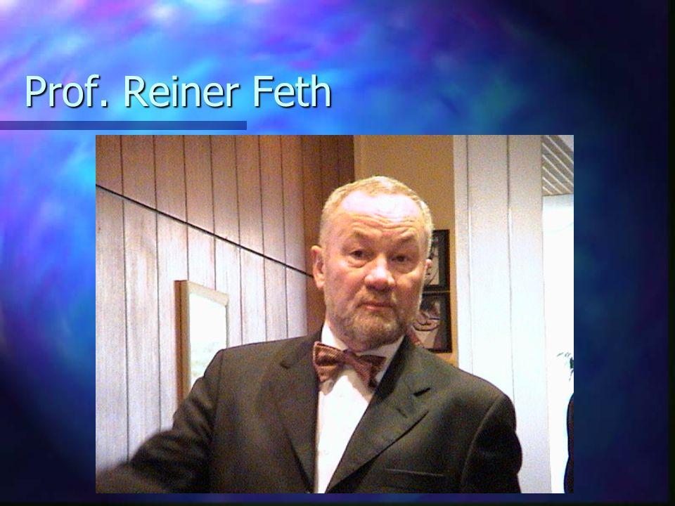 Prof. Reiner Feth