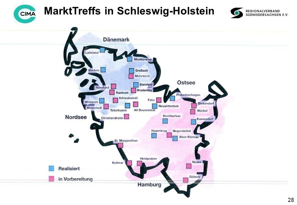 28 MarktTreffs in Schleswig-Holstein