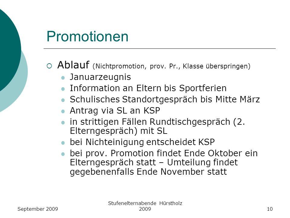 Promotionen Ablauf (Nichtpromotion, prov. Pr., Klasse überspringen) Januarzeugnis Information an Eltern bis Sportferien Schulisches Standortgespräch b