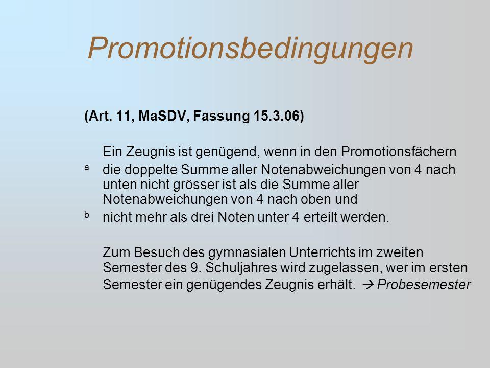 Promotionsbedingungen (Art.