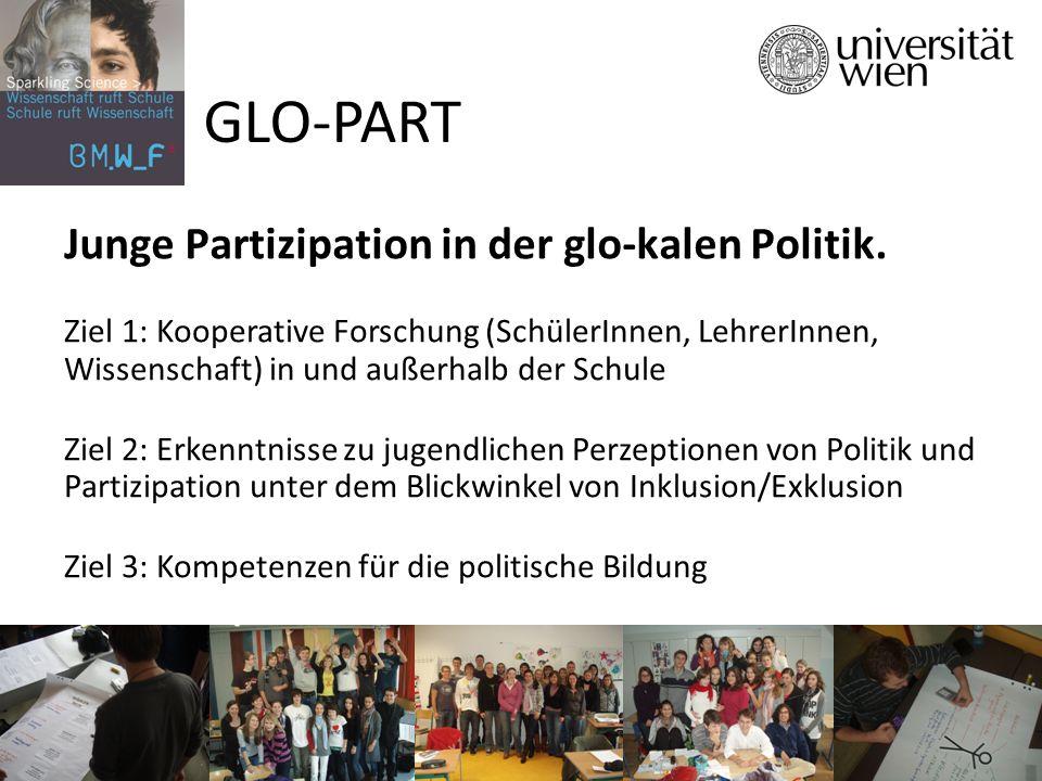 Junge Partizipation in der glo-kalen Politik.