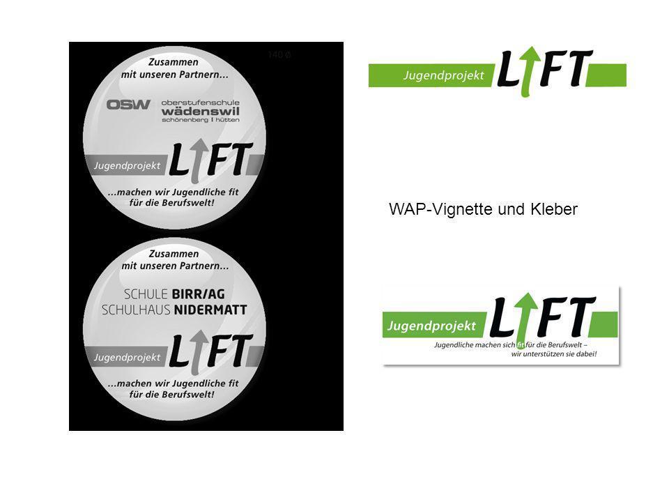 WAP-Vignette und Kleber