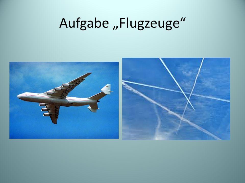 Beschreibung der Flugroute am Himmel Minimaler Abstand eines Flugzeugs von Radarstation Wie muss Kurs für Lande- anflug geändert werden.