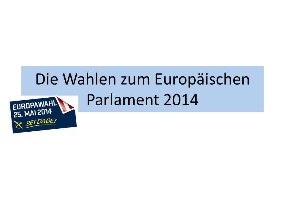 Die Wahlen zum Europäischen Parlament 2014