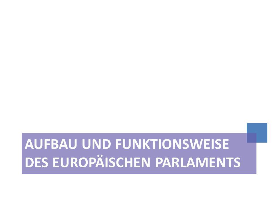 Stellung des EP im Institutionengefüge