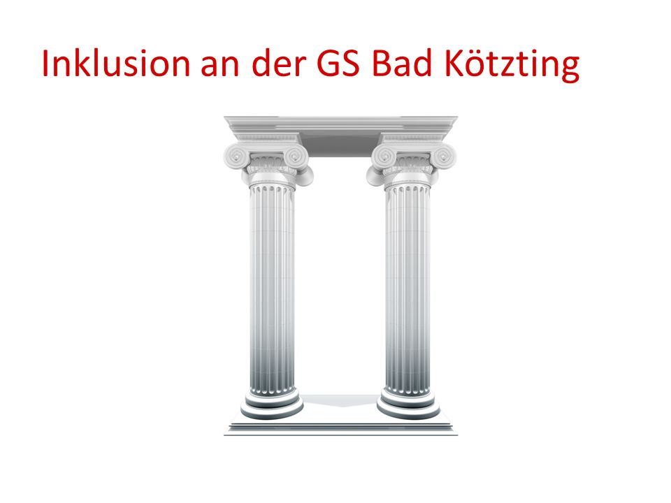 Inklusion an der GS Bad Kötzting