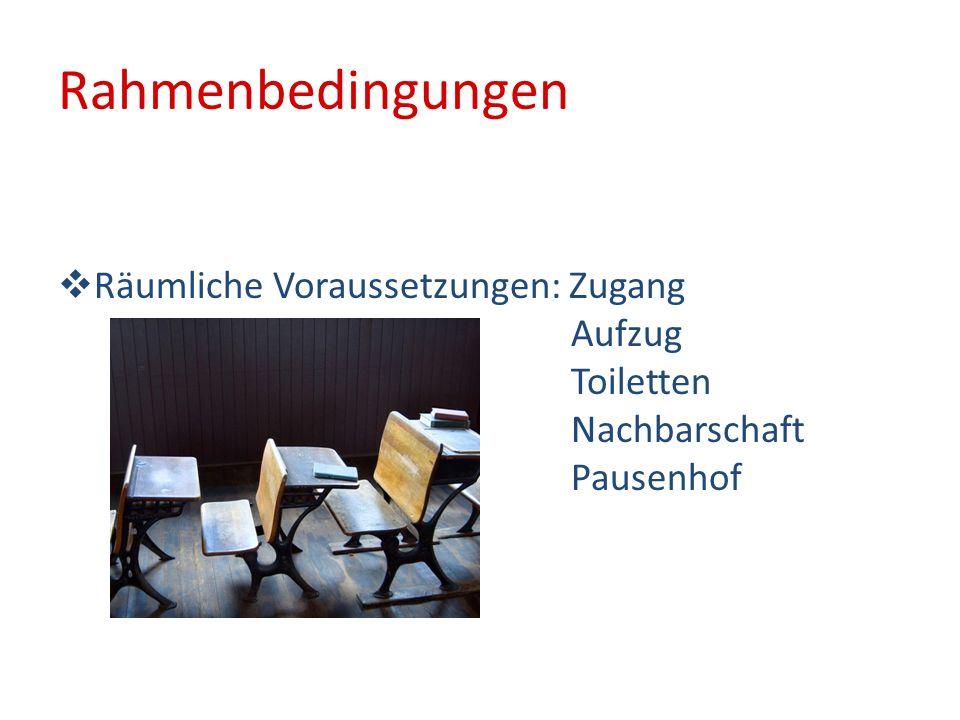 Personal 10 zusätzliche Lehrerstunden 13 Lehrerstunden vom SFöZ Förderlehrerin