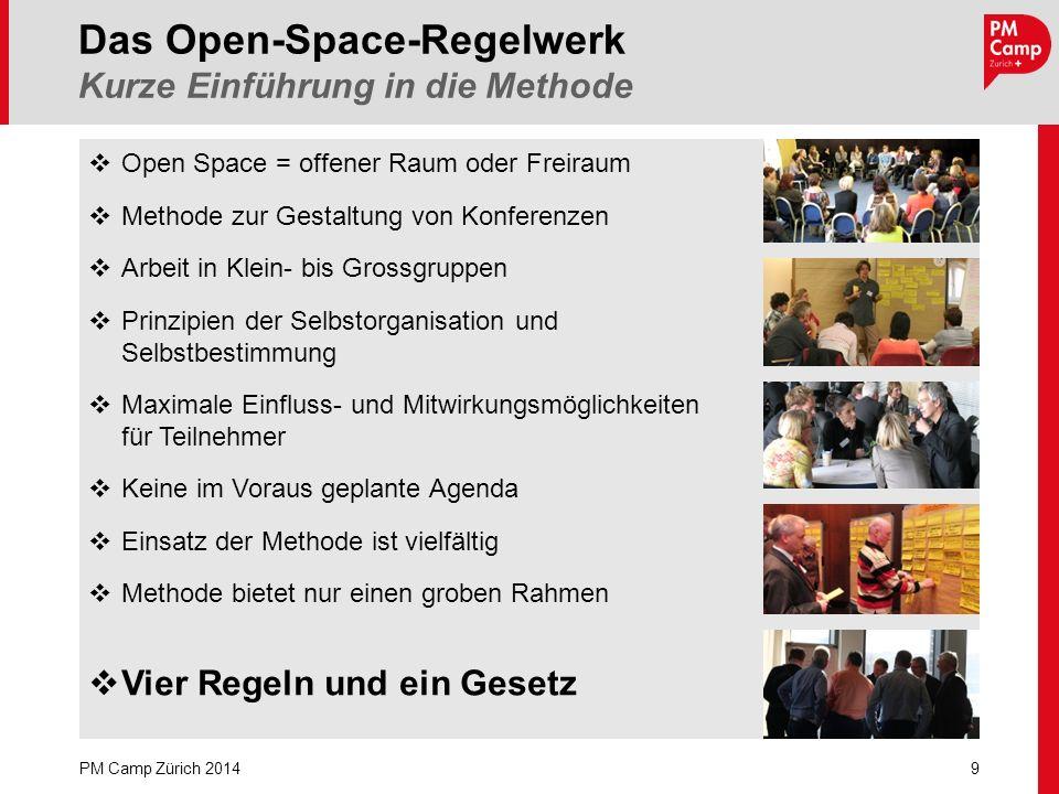 Open Space = offener Raum oder Freiraum Methode zur Gestaltung von Konferenzen Arbeit in Klein- bis Grossgruppen Prinzipien der Selbstorganisation und