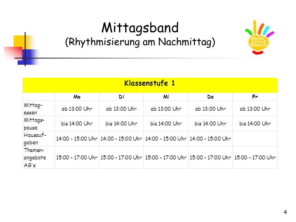 4 Mittagsband (Rhythmisierung am Nachmittag)