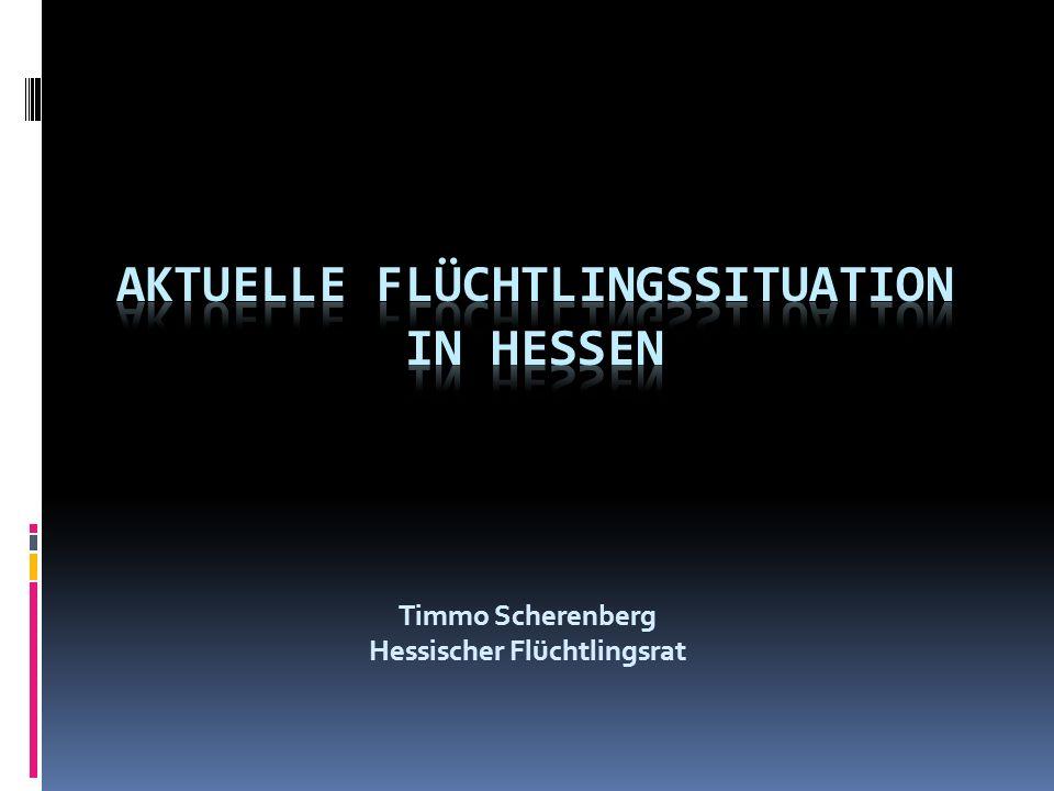 Ablauf des Asylverfahrens Asylgesuch (z.B.bei Polizei) Erstaufnahmeeinrichtung Gießen Ggf.
