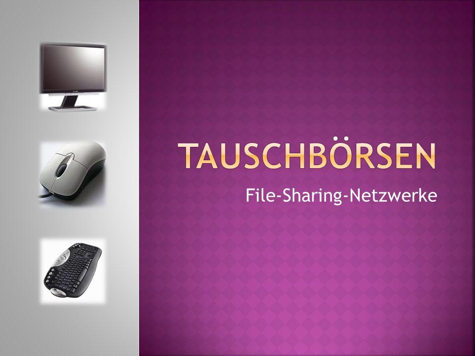 File-Sharing-Netzwerke