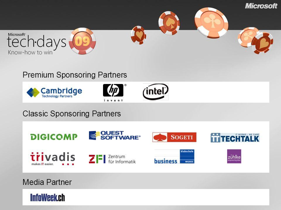 Classic Sponsoring Partners Media Partner Premium Sponsoring Partners
