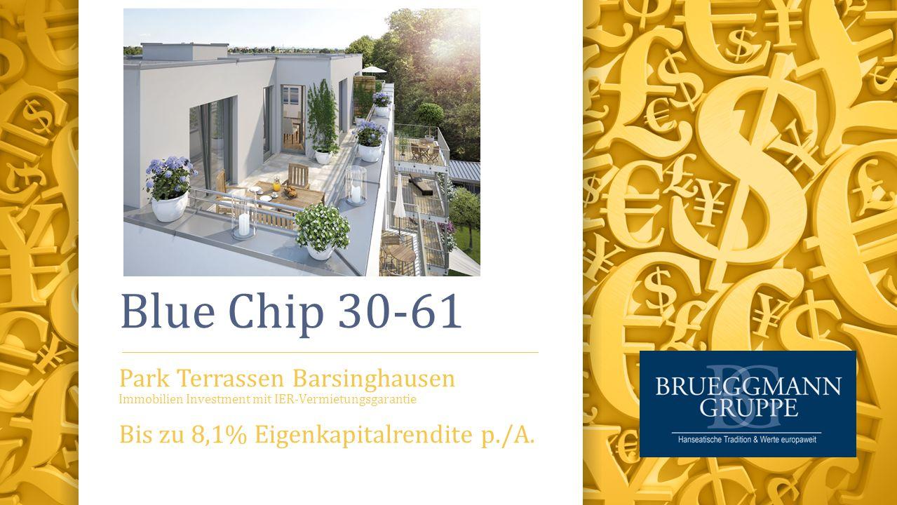 Blue Chip 30-61 Park Terrassen Barsinghausen Immobilien Investment mit IER-Vermietungsgarantie Bis zu 8,1% Eigenkapitalrendite p./A.