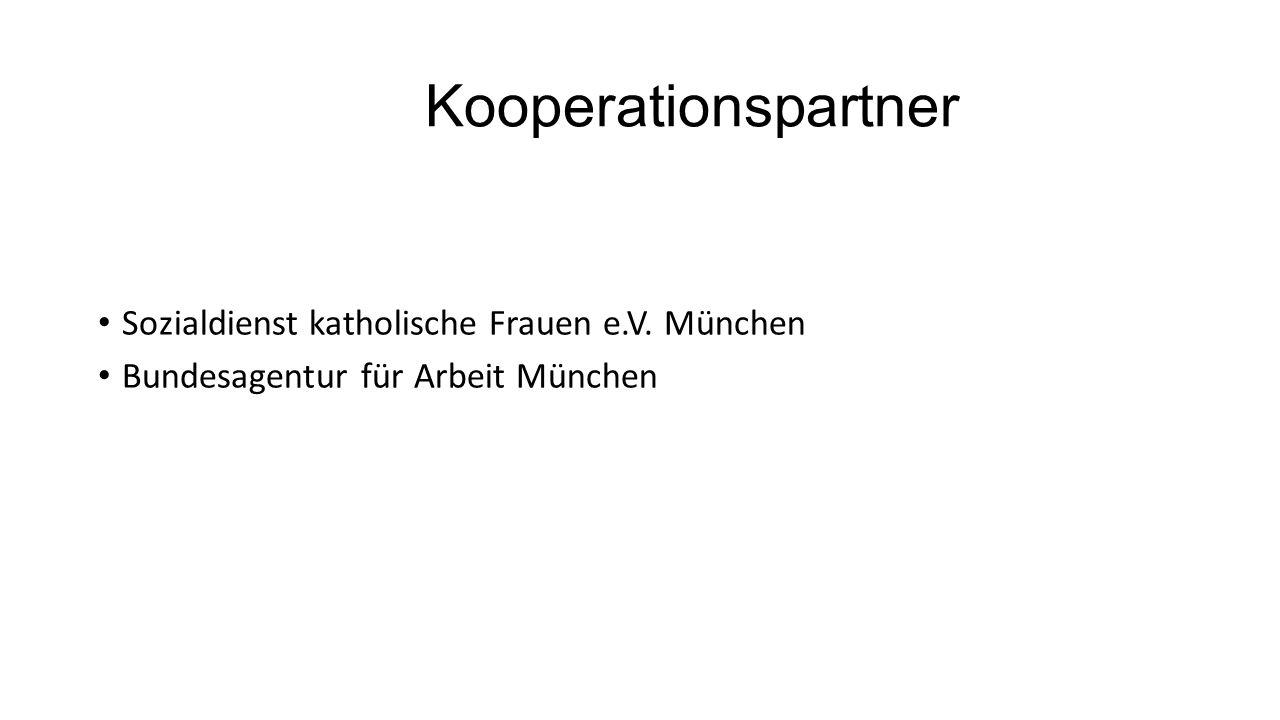 Kooperationspartner Sozialdienst katholische Frauen e.V. München Bundesagentur für Arbeit München