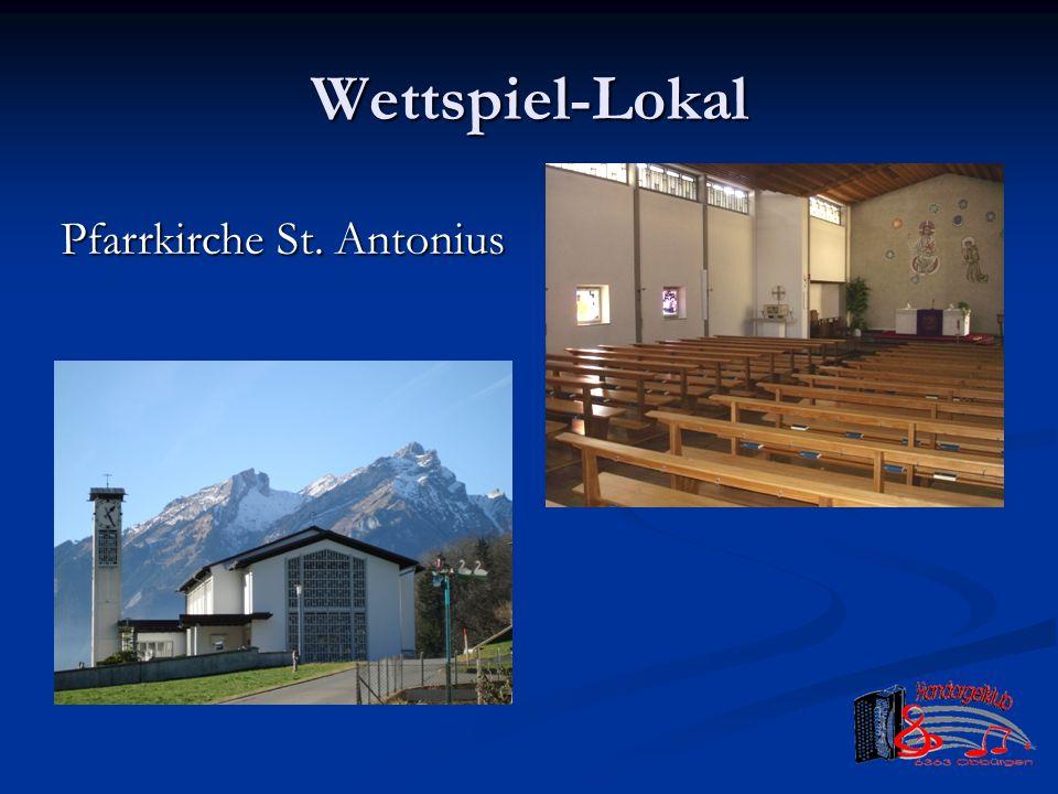 Wettspiel-Lokal Pfarrkirche St. Antonius
