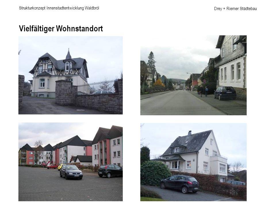 Drey + Riemer Städtebau Vielfältiger Wohnstandort Strukturkonzept Innenstadtentwicklung Waldbröl
