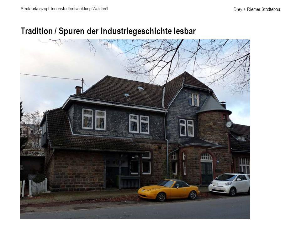 Drey + Riemer Städtebau Arbeiten in Waldbröl Strukturkonzept Innenstadtentwicklung Waldbröl