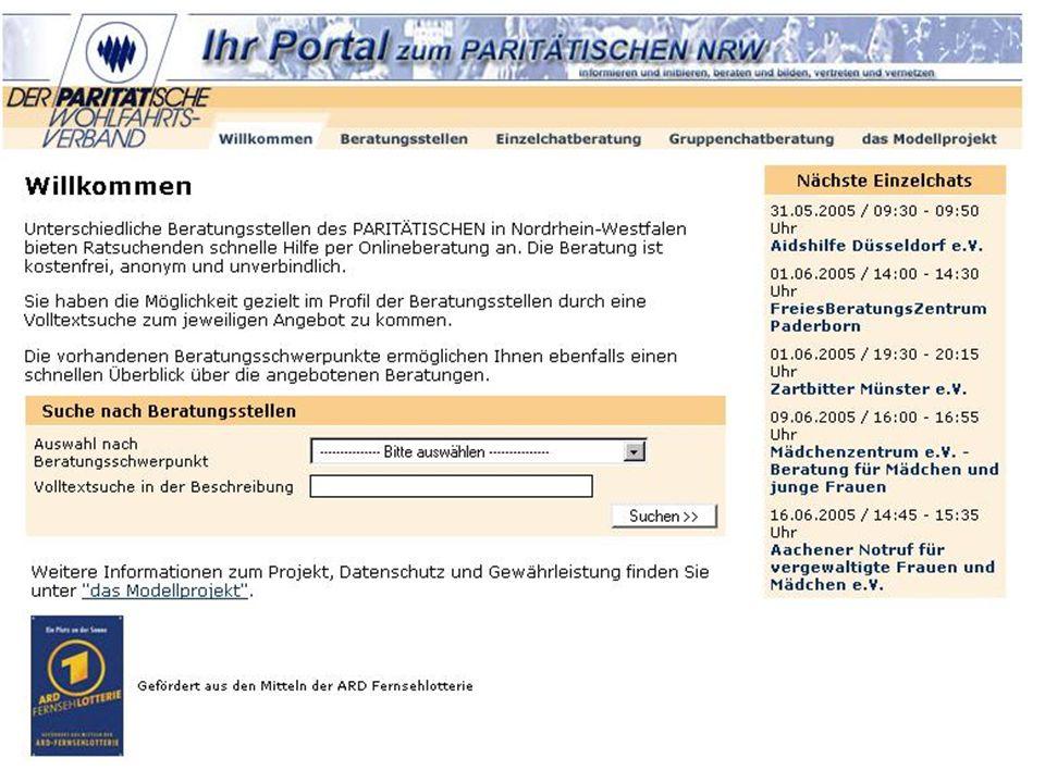 7 Pari Onlineberatungs-Portal