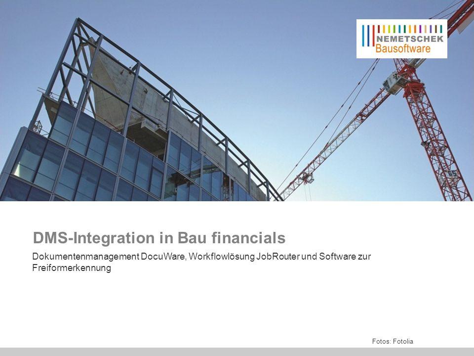 Bau financials ist das ideale Programm für mittlere und größere Baufirmen.